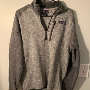 Patagonia size M Better Sweater 1/4 Zip